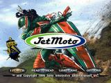 Jet Moto PlayStation Main menu