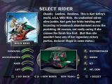 Jet Moto PlayStation Rider selection - Wild Ride