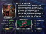 Jet Moto PlayStation Rider selection - Shannara