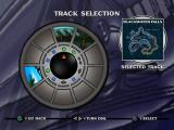 Jet Moto PlayStation Track selection