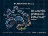 Jet Moto PlayStation Blackwater falls loading screen