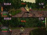 Jet Moto PlayStation Two players split-screen