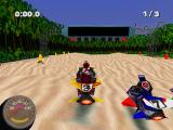 Jet Moto 2 PlayStation Beach track