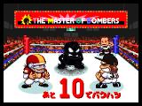 Bishi Bashi Special PlayStation The Master of Bombers! If the counter reaches zero and you're stuck with the bomb, you'll look like the guy in the middle.