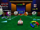Motor Toon Grand Prix PlayStation Pool balls