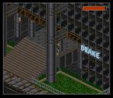 Shadowrun SNES Outside Drake's building