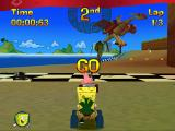 Nicktoons Racing PlayStation Reptar raceway