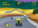 Nicktoons Racing PlayStation Angry Beavers track