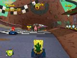 Nicktoons Racing PlayStation Space Goofs track