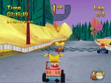 Nicktoons Racing PlayStation Switching character in relay mode.