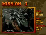 Strikers 1945 PlayStation Mission 3