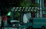 Hostage: Rescue Mission Amiga The title screen.