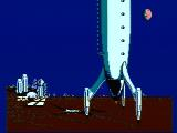 Dash Galaxy in the Alien Asylum NES The opening sequence