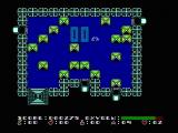Dash Galaxy in the Alien Asylum NES The elevator shaft on level 0