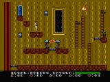 Dash Galaxy in the Alien Asylum NES Collect all objects in the room