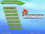 Beach Volley Hot Sports Windows Main Menu (demo version)