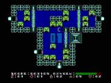 Dash Galaxy in the Alien Asylum NES Force fields and other obstacles can block your way