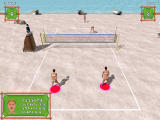 Beach Volley Hot Sports Windows The opponent team is serving (demo version)