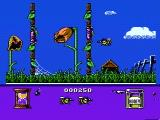 Bee 52 NES Bugs and other obstacles can block your way to the flowers