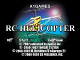 RC Helicopter PlayStation Title screen