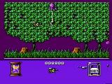 Bee 52 NES Unfriendly bugs can hide in the trees and bushes