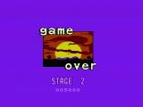Bee 52 NES Game over