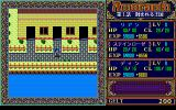 Phantasie RPG Amaranth PC-98 Exploring the town