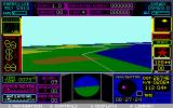 UFO DOS Flying over the west coast (MCGA 320x200 256 color)