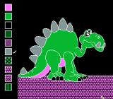 Color a Dinosaur NES Godzilla's on that building!