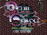 Devil's Crush Genesis Title screen (Japanese version)