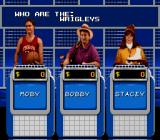Jeopardy! Sports Edition SNES The question to the answer is given