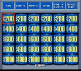 Jeopardy! Sports Edition SNES The amounts double in Double Jeopardy