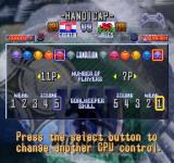 International Superstar Soccer Deluxe PlayStation Handicap setup.