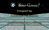 Stargoose Warrior DOS Title screen