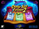 Deep Sea Tycoon: Diver's Paradise Windows Main menu (demo version)
