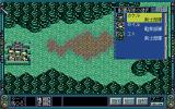 Dragon Knight 4 PC-98 Battle screen. deploying your troops is the first thing to do
