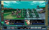 Dragon Knight 4 PC-98 Infantry vs. infantry!
