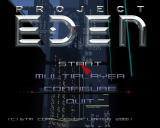 Project Eden Windows Main Menu