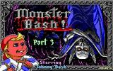 Monster Bash DOS Title screen
