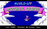 Mixed-Up Mother Goose DOS Title Screen