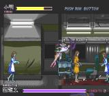 Kishin Dōji Zenki FX: Vajra Fight PC-FX How rude! She hit me with a tray!