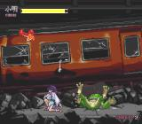Kishin Dōji Zenki FX: Vajra Fight PC-FX This train is a wreck. Even the frog can't bear it any more...