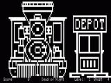 13 Ghosts TRS-80 Game begins at the train station