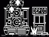 13 Ghosts TRS-80 Game starts... the spiders and ghosts are everywhere