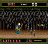 Splatterhouse TurboGrafx-16 Spikes from the ground