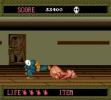 Splatterhouse TurboGrafx-16 Going low to take on this monstrosity