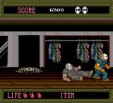 Splatterhouse TurboGrafx-16 More malicious reflections, though this time there is a reason for all the mirrors since the room is a giant closet