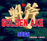 Golden Axe Genesis title screen
