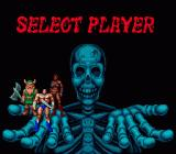 Golden Axe Genesis Character selection