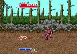 Golden Axe Genesis now why would anyone want to hurt someone who looks like this..